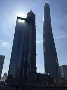 Shanghai mrakodrapy