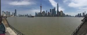 Shanghai výhled na centrum