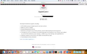 Volba země Apple Care+